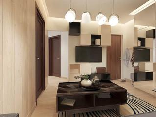 Дизайн-проект квартиры в ЖК Аврора
