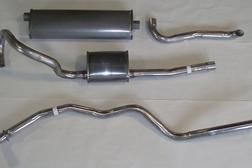 1967 Mustang Impostor Alum Steel Dual Exhaust