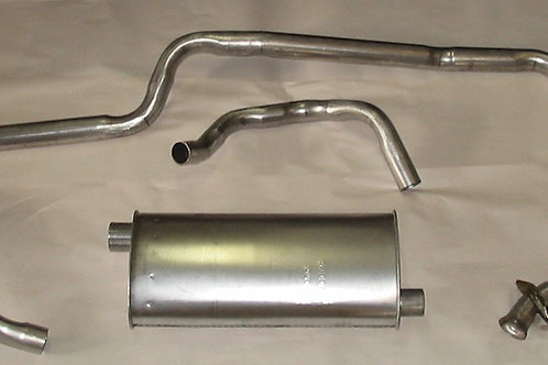 '68-70 Mustang Impostor Stainless Single Exhaust