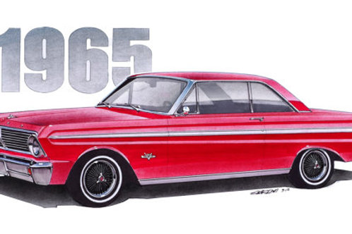 1965 Falcon Sprint Art Print