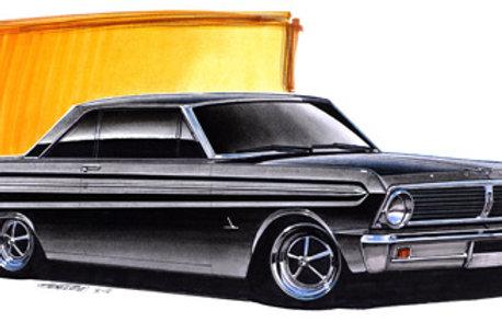 1965 Falcon Sprint Art Print