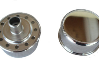 Chrome Push-In Breather Cap