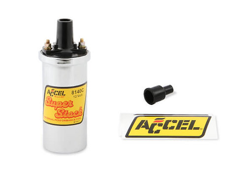ACCEL IGNITION COIL - CHROME