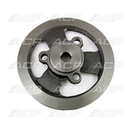 Crankshaft Pulley w/AC or PS, 6 Cylinder 200, 1G Bolt-on