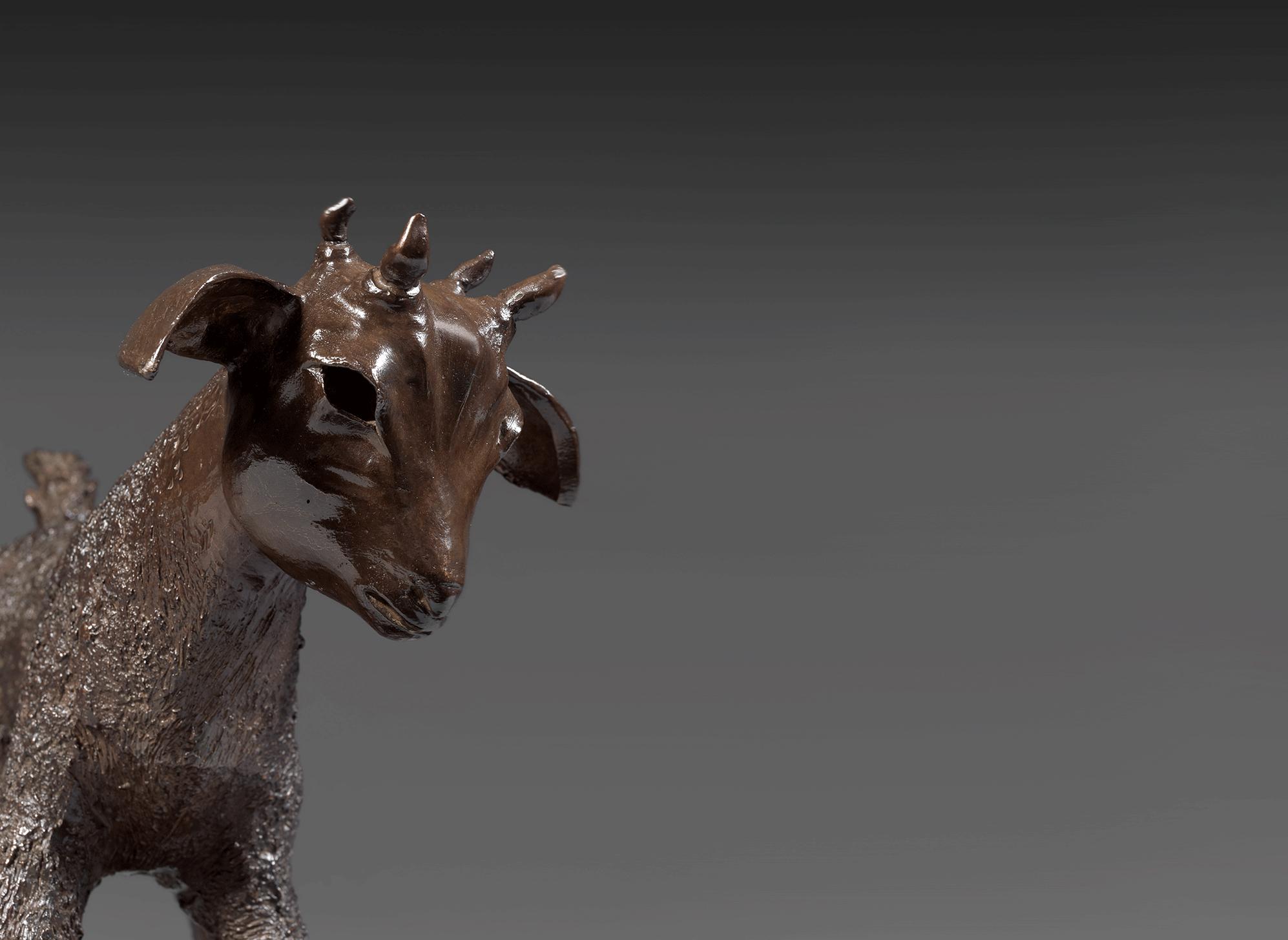 ECCE HOMO. Sculpture Bronze