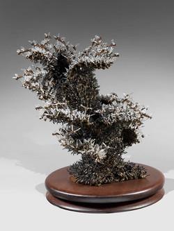 ABEILLES Bronze-Verre de murano