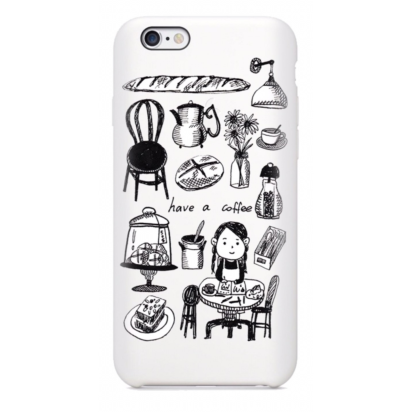 coffee shop phone case2