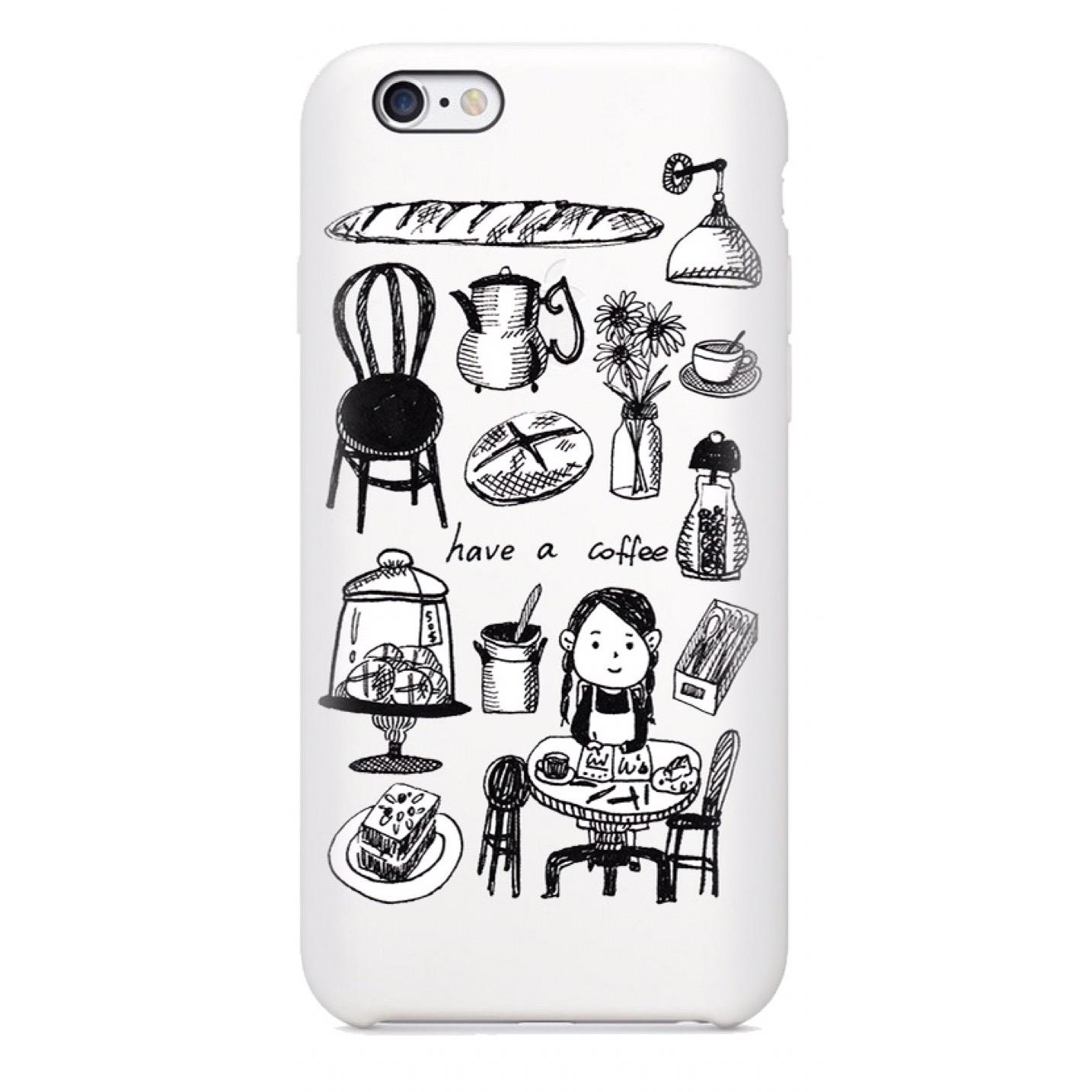 coffee shop phone case2