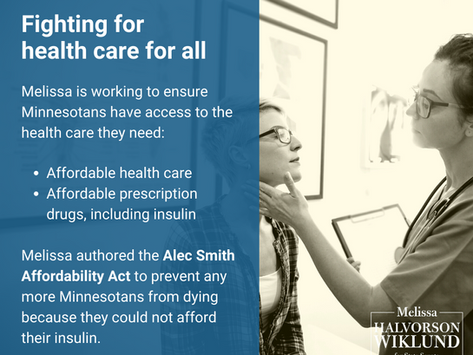 Fighting for affordable health care for all