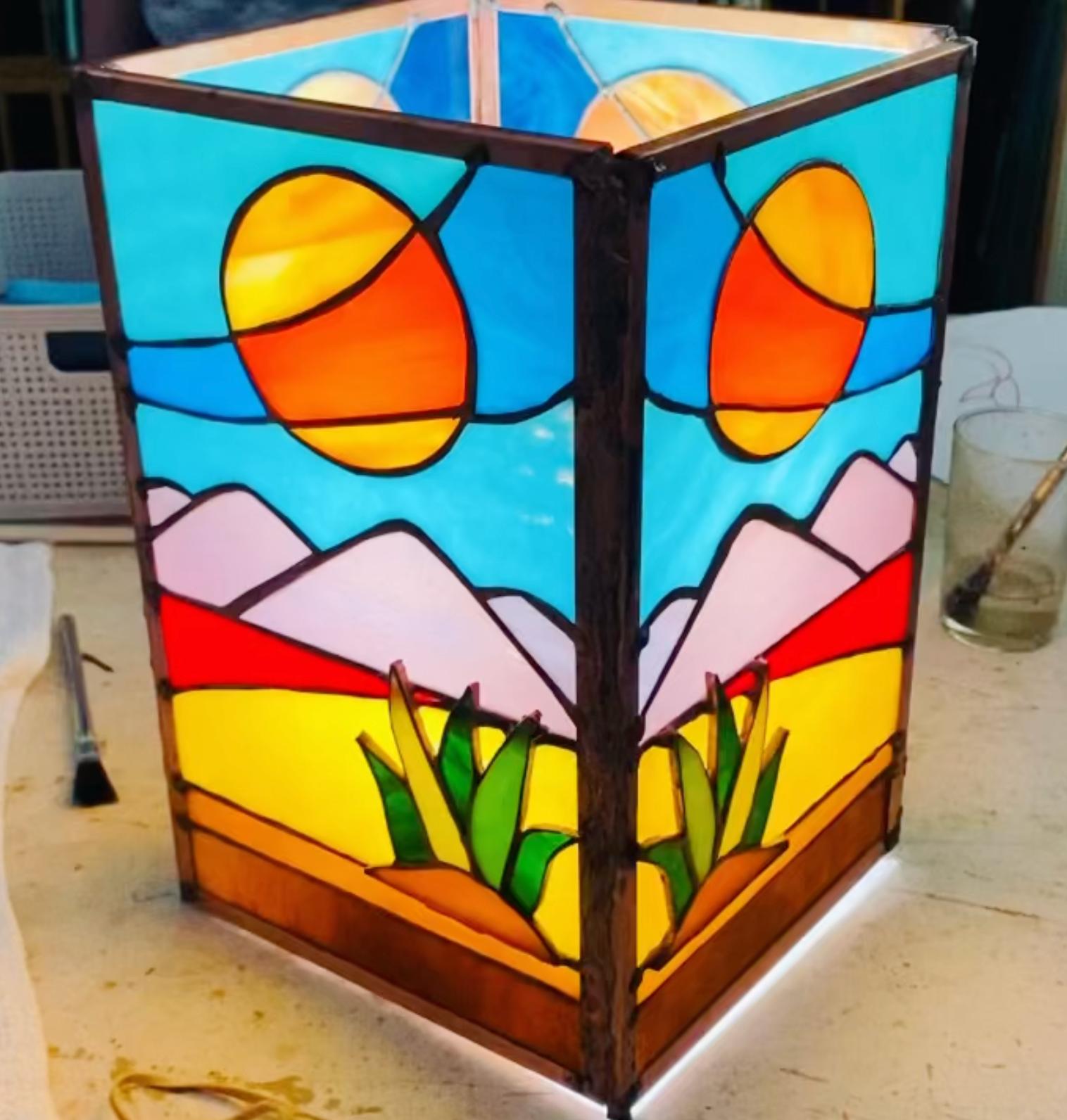 Fri. AM Lamp Making Class 1/14-2/4