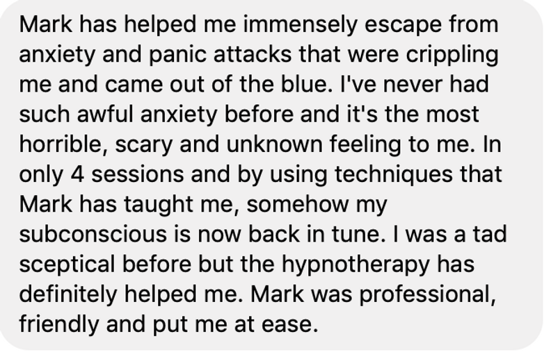 Review of Tranceformation Hypnotherapy Folkestone