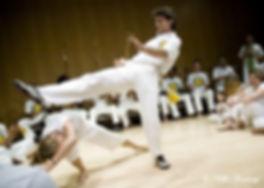 Mestre Ombrinho Capoeira Kick