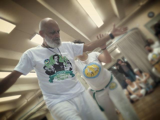Mestre No Capoeira Master