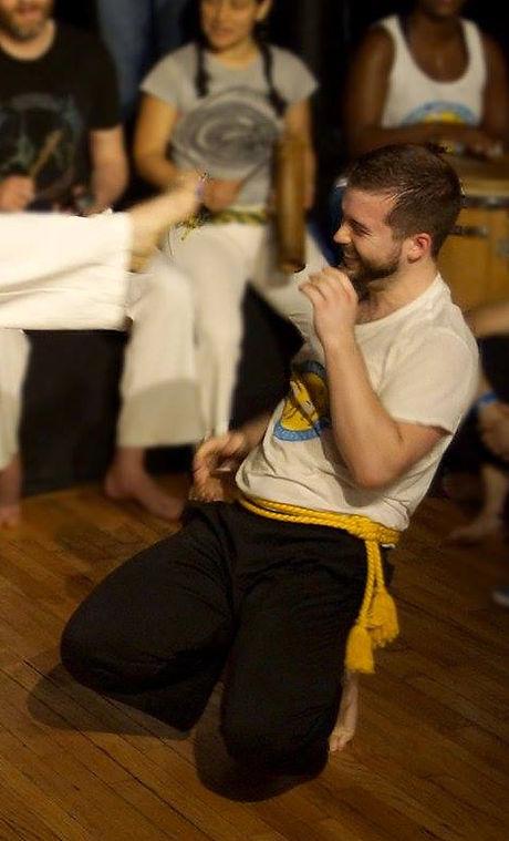 Instructor Carcaju Playing Capoeira