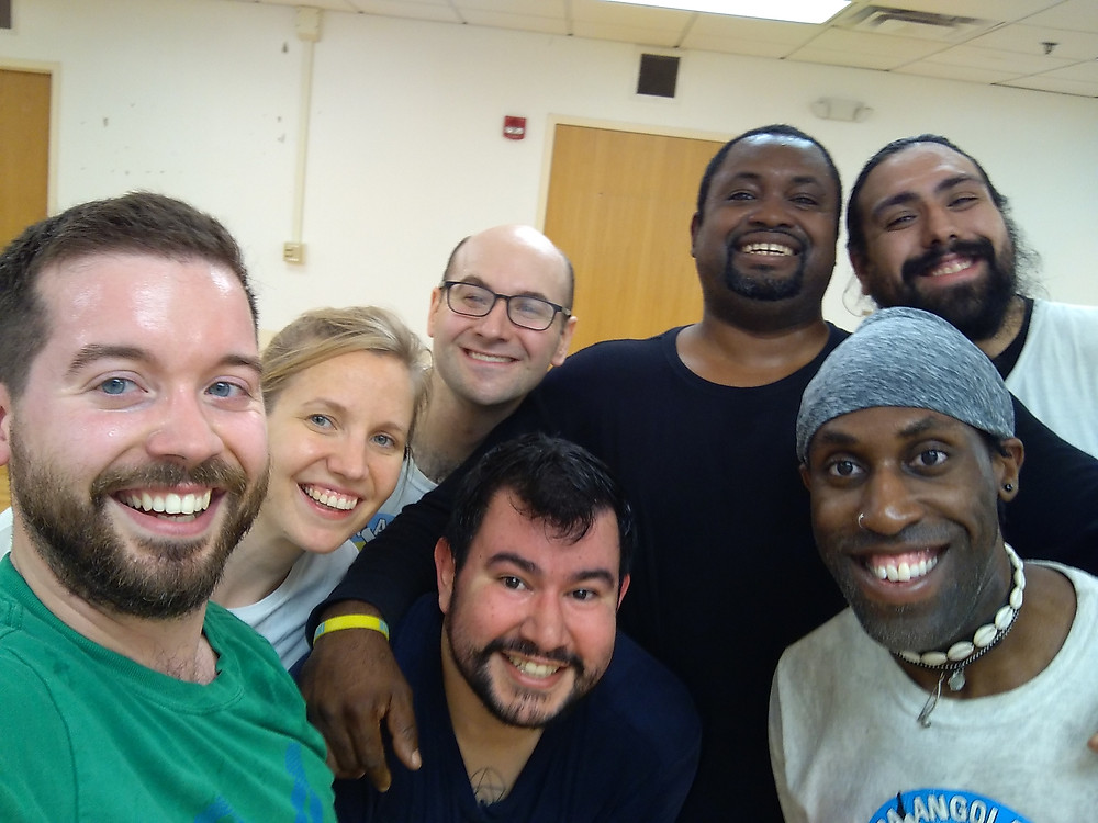 Friends from Syracuse Capoeira!