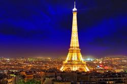 Paris, Ville lumière, France