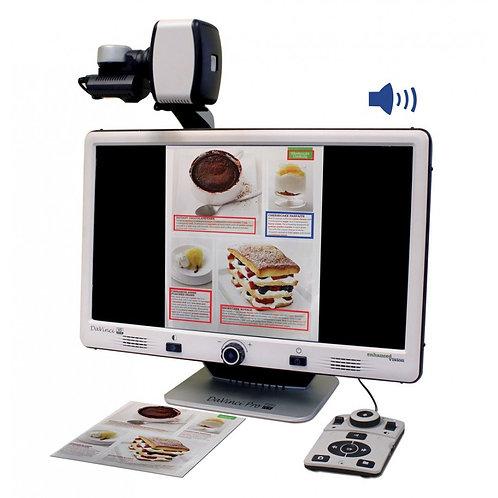 """Videoingranditore 24"""" con OCR - Da Vinci Pro HD/OCR"""