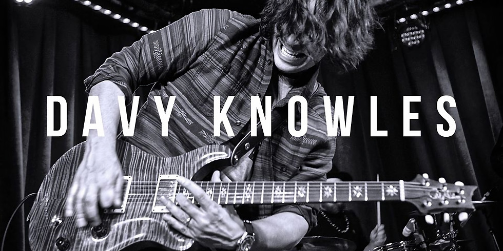 Davy Knowles at the Green Apple