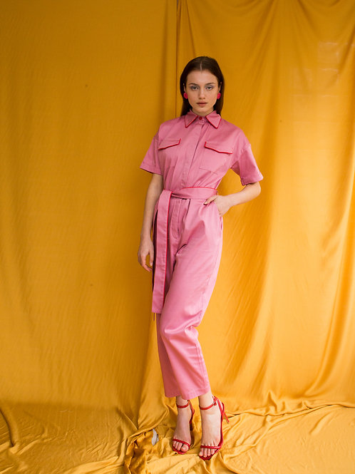 Sandra cotton jumpsuit