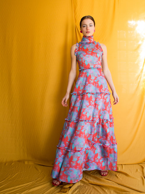 Rebecca high neck dress
