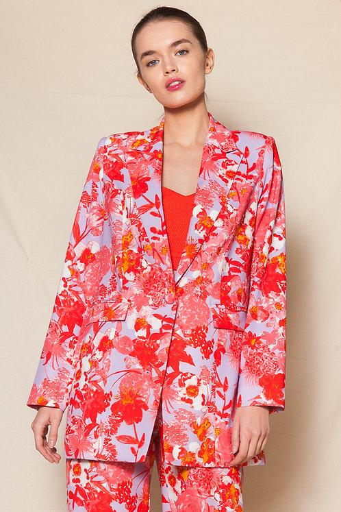 Simona printed blazer