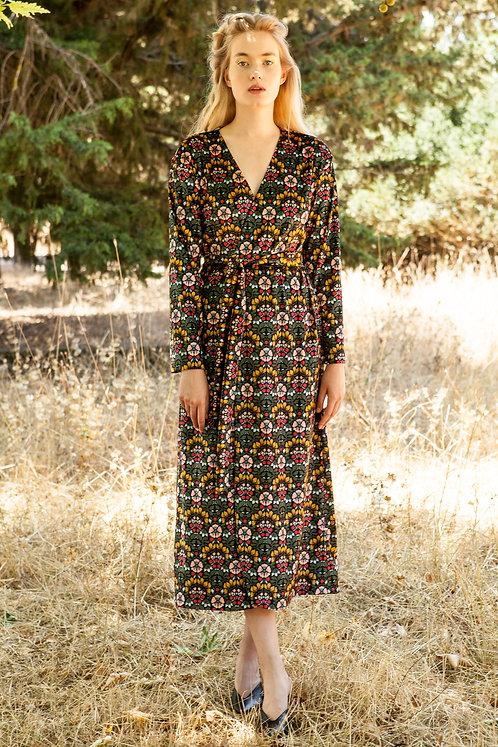 Morea velvet kimono