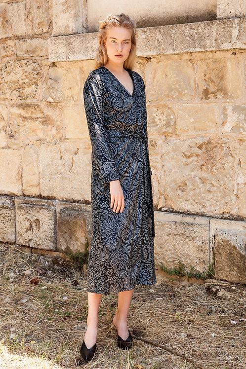 Ida velvet kimono