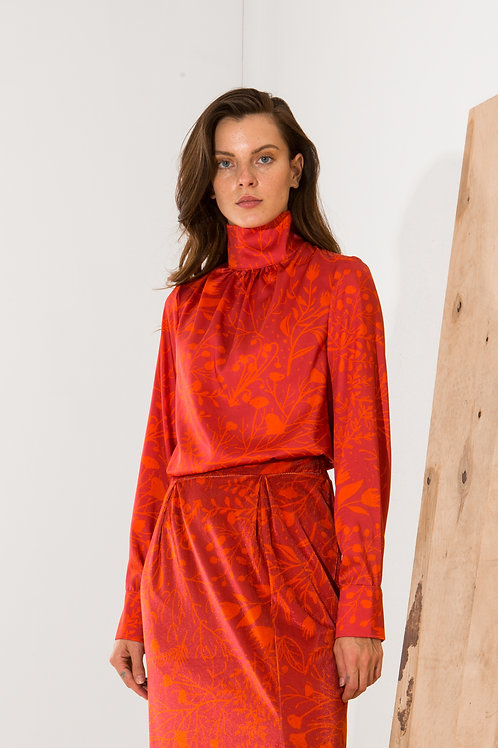 Laurence high neck top