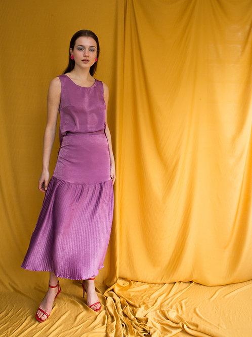 Susan pleated skirt