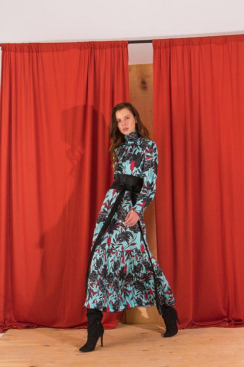 Isidore pleated skirt