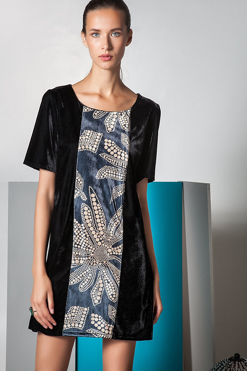 Antheia Printed mini Dress