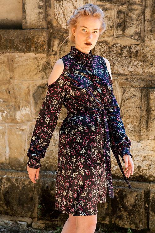 Cranea cut out sleeves dress