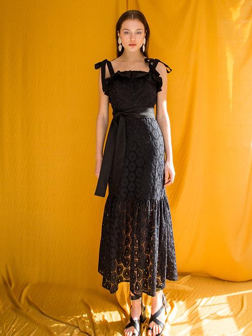Cheryl ruffled dress