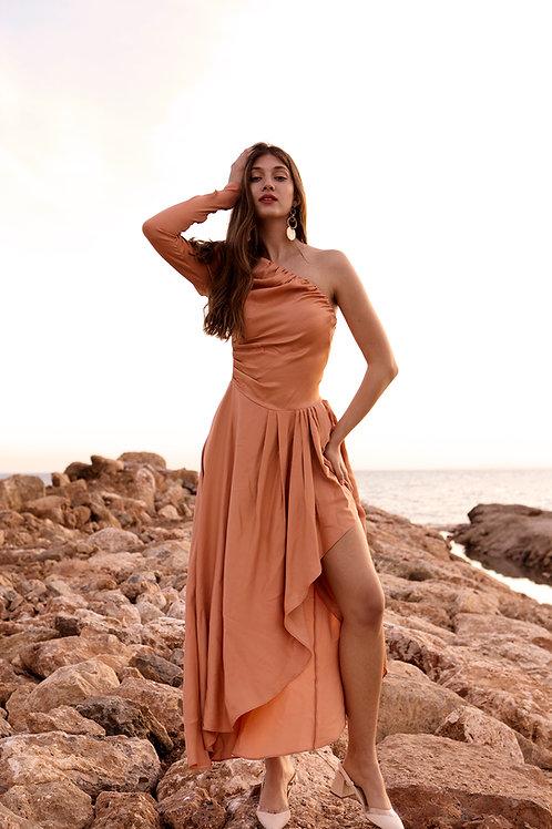 Chiara one shoulder dress