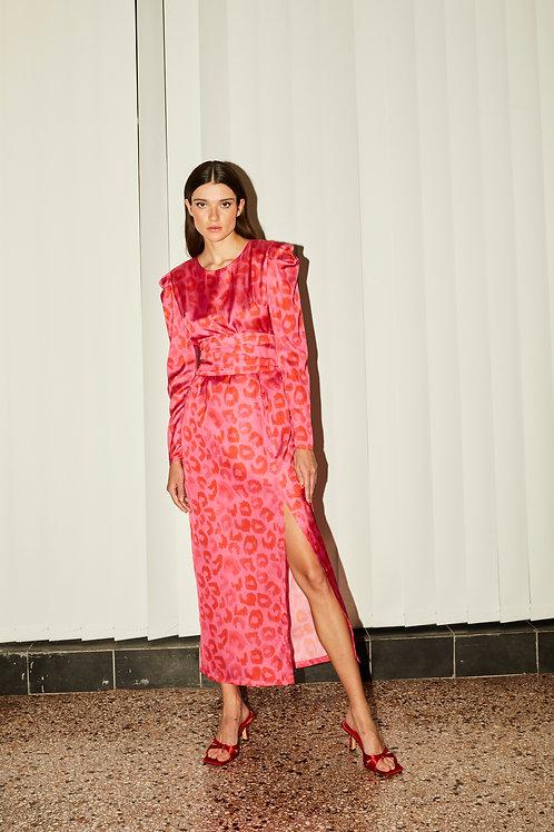 Samantha puff sleeve dress