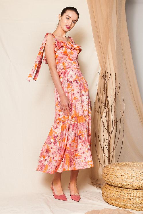 Fiora ruffled dress