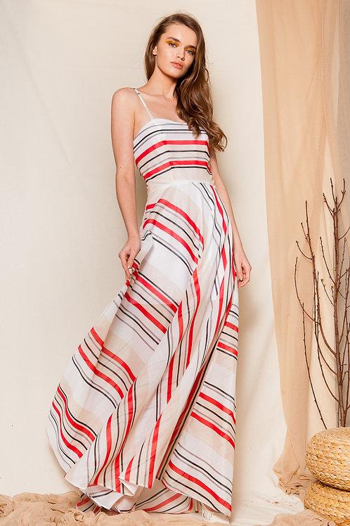 Gostanza striped dress
