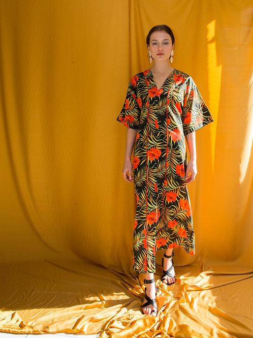 Janet kaftan dress