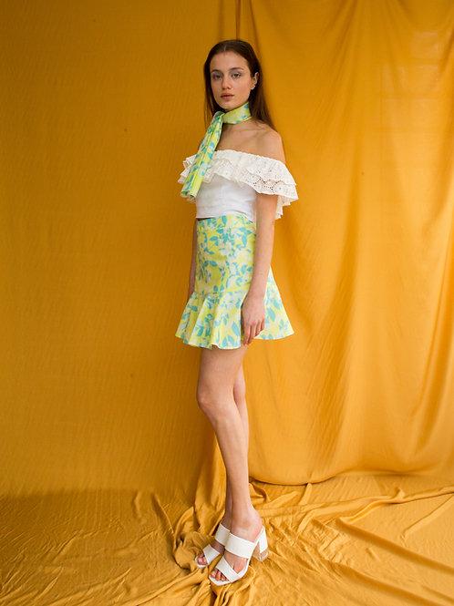 Sharon cotton mini skirt