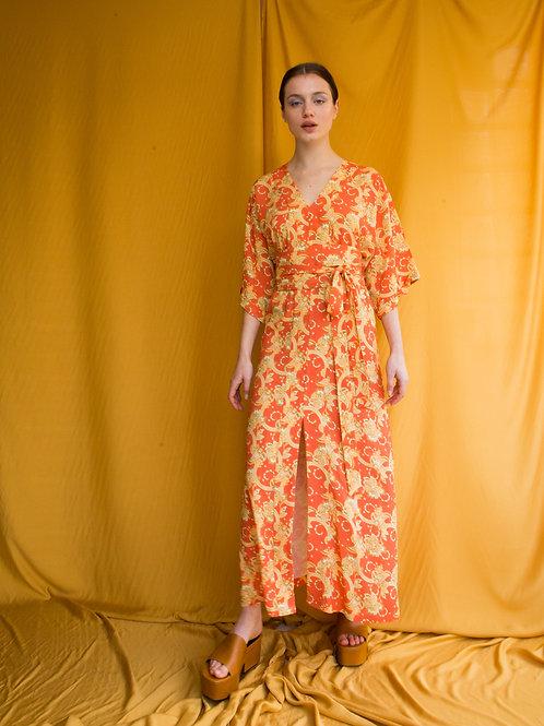 Carol kaftan dress