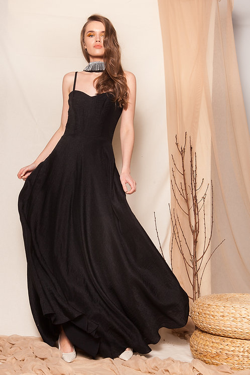 Ghinga black dress