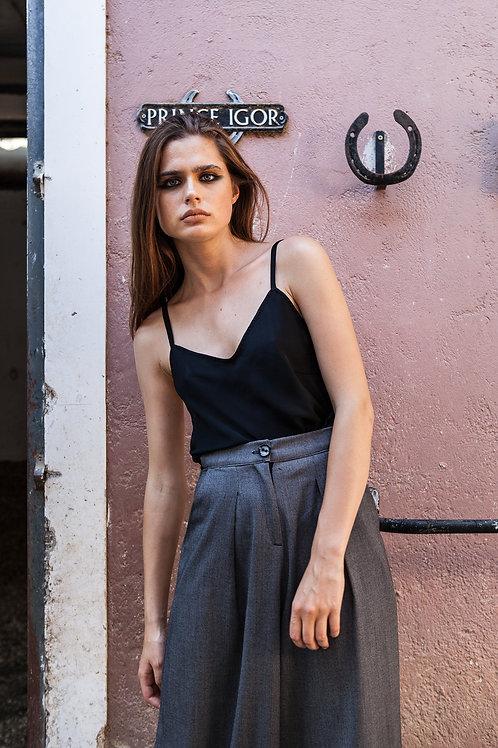 Isabel lingerie satin top