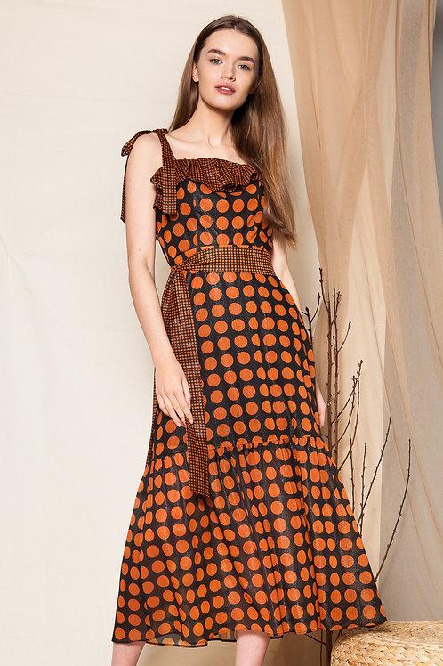 Giuliana ruffled dress