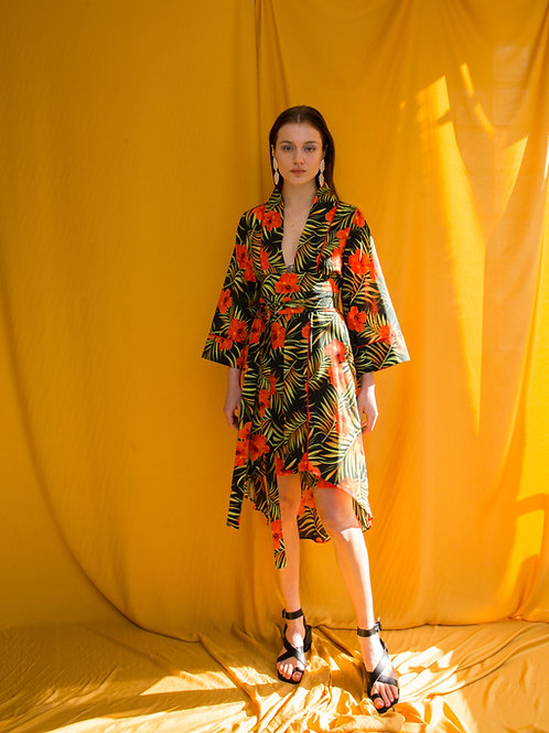 Janet cotton kimono