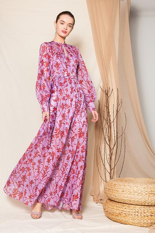 Veronica long sleeve maxi dress
