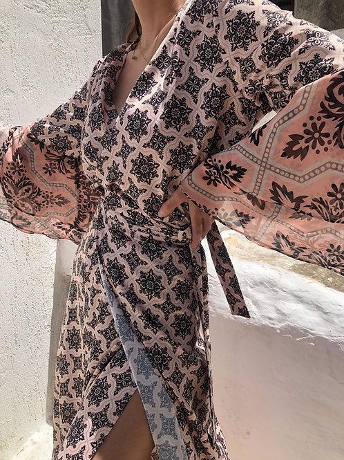 Bouinat ruffled sleeve top