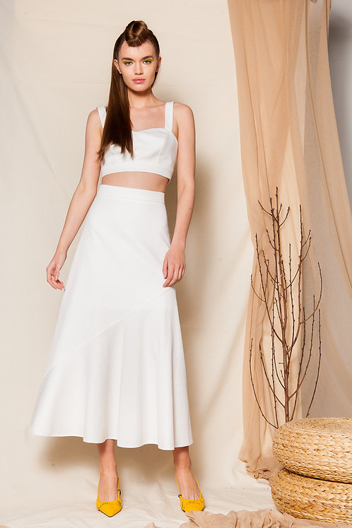 Lavinia white skirt