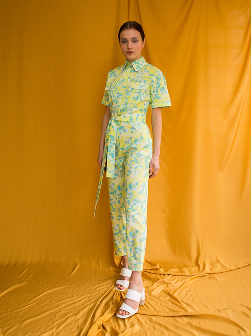 Sharon cotton jumpsuit