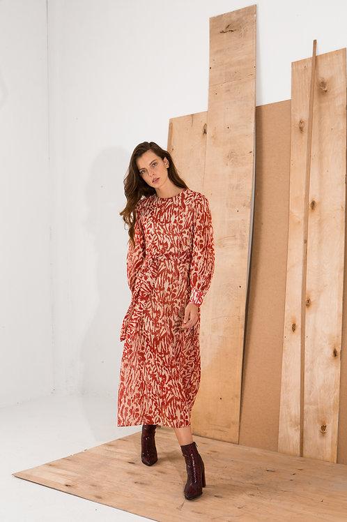 Jeanine long sleeve dress