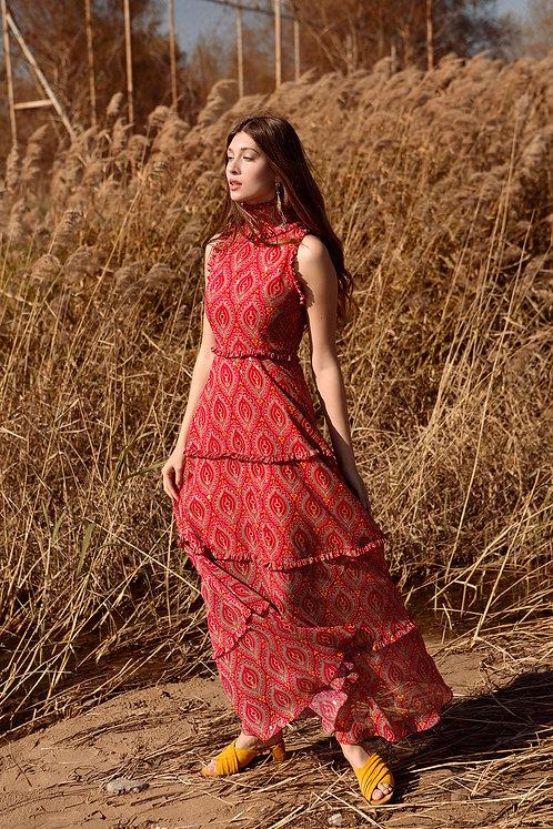 Jasmine high neck dress